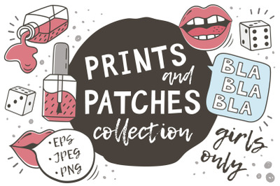 PRINTS and PATCHES PACK