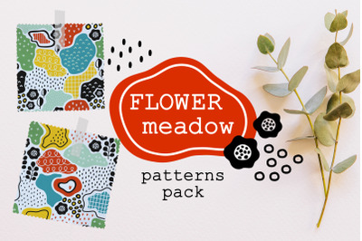 FLOWER MEADOW | patterns pack