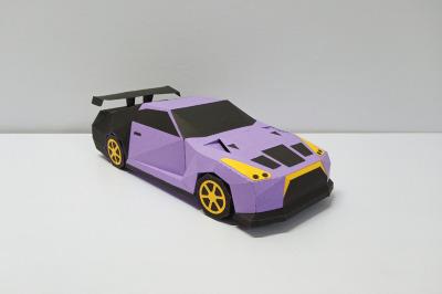 DIY Sports Car Model - 3d papercraft