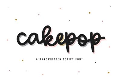 Cakepop - Fun Handwritten Script Font