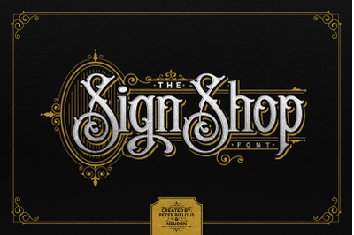 The Sign Shop Font