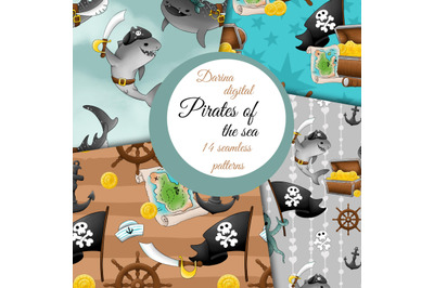 Pirates of the sea patterns