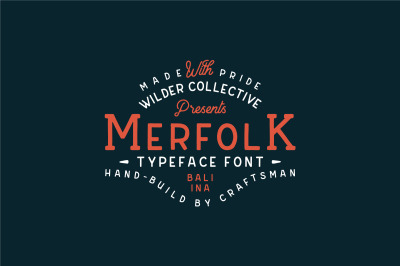 Merfolk Typeface Font