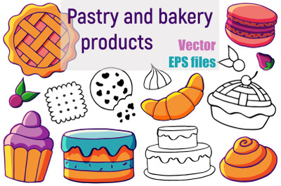 Pastry and bakery products