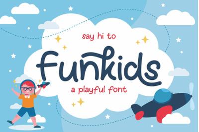 Fun Kids - Playful Font