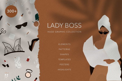 Lady Boss Huge Graphic Collection