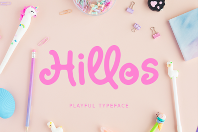 Hillos Font