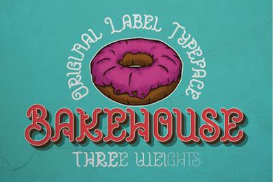 Bakehouse Label Font
