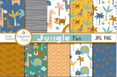 Jungle Fun paper