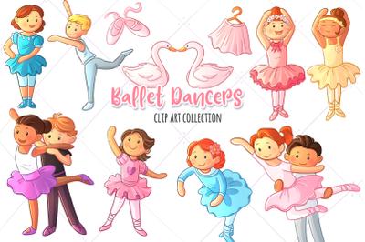 Ballet Dancers Clip Art Collection