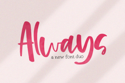 Always Font Duo
