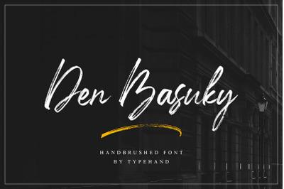 Den Basuky - Rustic Brush Font