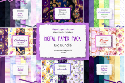 80 digital backgrounds. Big bundle