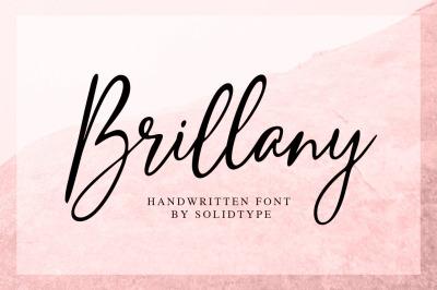 Brillany - Handwritten Font