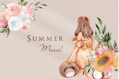 Summer Mood. Aesthetic collection
