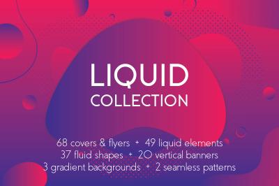Liquid shapes bundle
