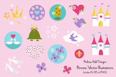 Princess Vector Graphics