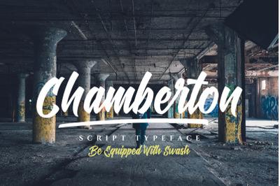 Chamberton Script Font