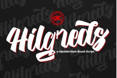 Hilgreds Script Font