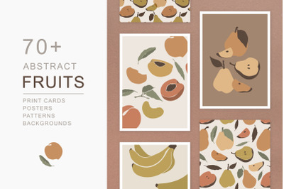 Fruits Abstract Graphics Pack