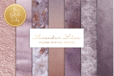 Lavender & Lilac Texture Backgrounds