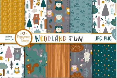 Woodland Fun paper