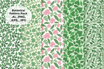 Botanical  Pattern Pack
