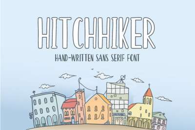 Hitchhiker Font