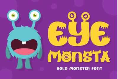 Egg Monsta - Bold Display Font