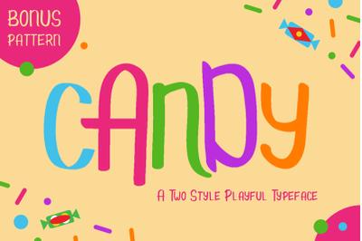 Candy - Kids Font