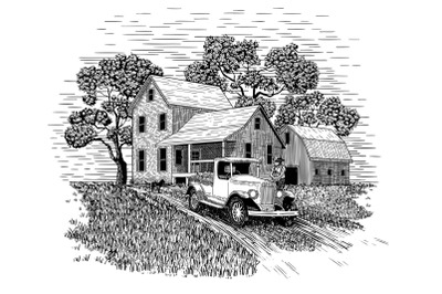 Farmer and His Produce