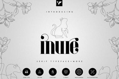 Inure - Serif Typeface + More