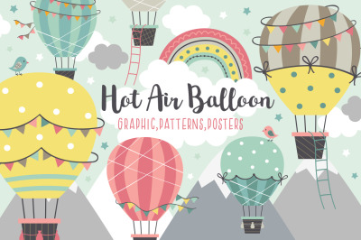 Hot Air Balloon collection