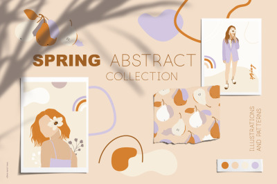 Abstract Spring collection