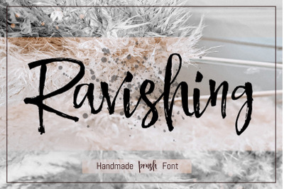 Ravishing Brush Font