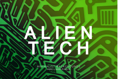 Alien Technology Backgrounds