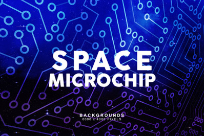 Space Microchip Backgrounds 1