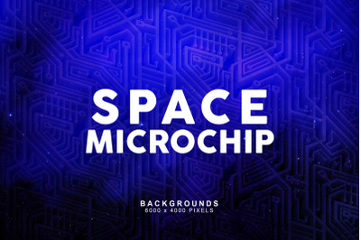 Space Microchip Backgrounds 2