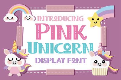 Pink Unicorn Font