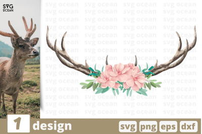 1 DEER HORNS svg bundle, horns cricut svg