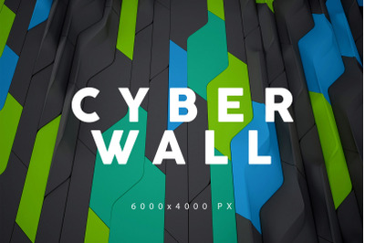 Cyber Wall Backgrounds 2