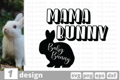 1 MAMA BUNNY svg bundle, animalcricut svg