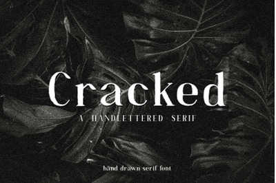 Cracked/ (DISCOUNT 50%)