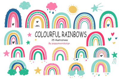 Colourful Rainbows