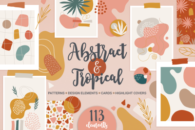 Abstract & Tropical Kit