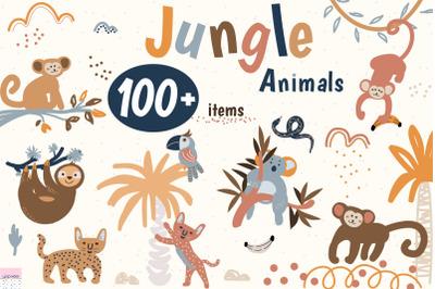 Jungle Animals Pack