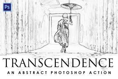 Transcendence Photoshop Action