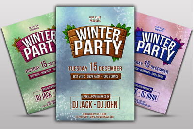 WinterParty Flyer
