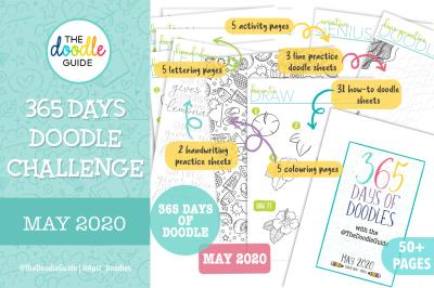 MAY - 365 DOODLE CHALLENGE