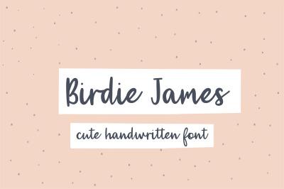 Birdie James